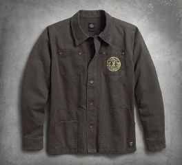 Harley-Davidson® Men's Workwear Slim Fit Casual Jacket 98581-17VM