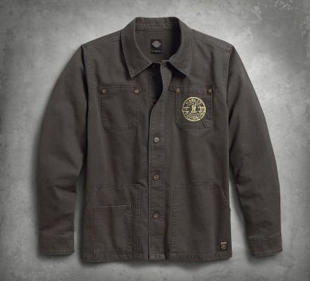 Harley-Davidson® Men's Workwear Slim Fit Casual Jacket 98581-17VM