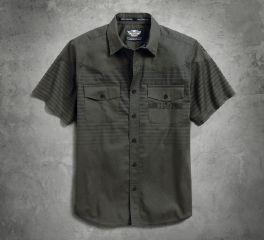 Harley-Davidson® Men's Multi-Stripe Shirt 96508-17VM