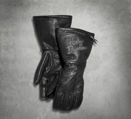 Harley-Davidson® Women's Brava Distressed Leather Gloves 97389-17VW