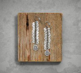 Harley-Davidson® Women's Diamond Dust Earrings 97839-17VW