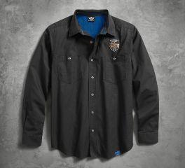 Harley-Davidson® Men's 115th Anniversary Ripstop Shirt 99009-18VM