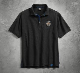 Harley-Davidson® Men's 115th Anniversary Polo with Coldblack® Technology 99015-18VM
