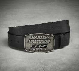 Harley-Davidson® Men's 115th Anniversary Belt & Buckle 99411-18VM