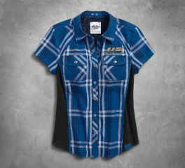 Harley-Davidson® Women's 115th Anniversary Plaid Shirt 99046-18VW