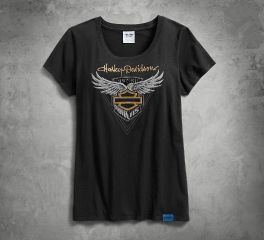Harley-Davidson® Women's 115th Anniversary Metallic Tee 99041-18VW