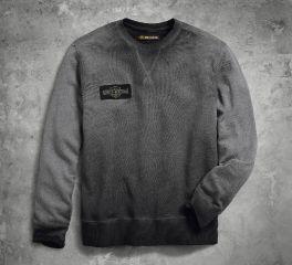 Harley-Davidson® Men's Crew Neck Pullover Slim Fit Sweatshirt 99022-18VM