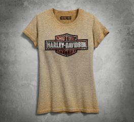 Harley-Davidson® Women's Studded Logo Tee 99048-18VW