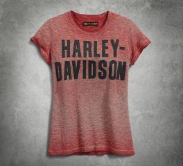 Harley-Davidson® Women's Jersey Appliqué Tee 99051-18VW