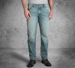 Harley-Davidson® Straight Leg Fit Modern Stretch Jeans 99053-18VM