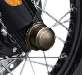 Harley-Davidson® Brass Front Axle Nut Covers 43000046