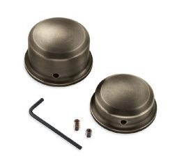 Harley-Davidson® Brass Rear Axle Nut Covers 43000050