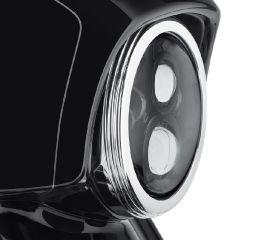Harley-Davidson® Defiance Headlamp Trim Ring 61400347