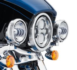 Harley-Davidson® Defiance Auxiliary Lamp Trim Rings 61400353