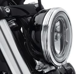 Harley-Davidson® Defiance Headlamp Trim Ring 61400429