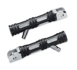 Harley-Davidson® Edge Cut Rider Footpegs with Removable Wear Peg 50500967