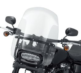 Harley-Davidson® Wind Splitter H-D® Detachables™ Compact 19 in. Windshield 57400324