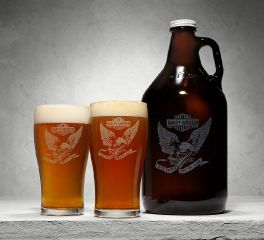 Harley-Davidson® Growler & Pint Glasses 96925-18V