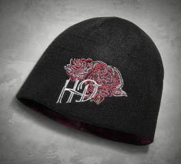 Harley-Davidson® Women's Reversible Rose Hat 97615-18VW