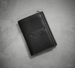 Harley-Davidson® Men's Since 1905 Debossed Tri-Fold Wallet 97807-18VM