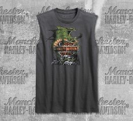 Harley-Davidson® Men's Asphalt Dragon Slim Fit Muscle Tee 96153-18VM