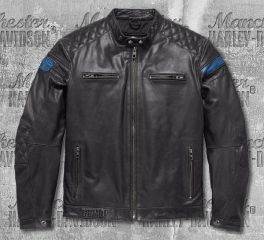 Harley-Davidson® 115th Anniversary Eagle CE-Certified Leather Jacket 98002-18EM