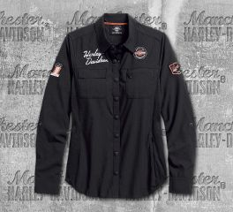 Harley-Davidson® Women's Performance Fast Dry Vented Classic Shirt 99076-18VW
