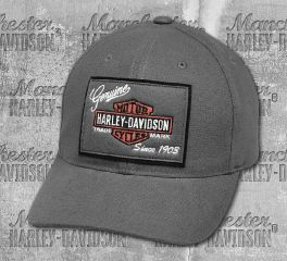 Harley-Davidson® Men's Castlerock Genuine Logo Patch Cap 99435-18VM