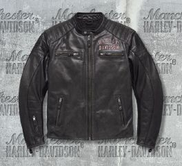 Harley-Davidson® Men's No.1 Genuine Classics Leather Jacket 98121-17EM