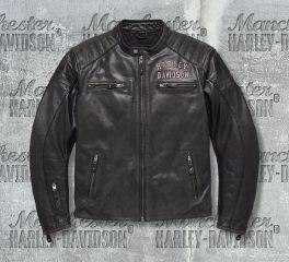 Harley-Davidson® Men's No.1 Genuine Classics Leather Jacket 98121-17EM