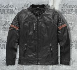 Harley-Davidson® Men's Varick Leather Jacket 97165-17VM