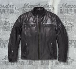 Harley-Davidson® Men's No.1 Skull Leather Jacket 98128-17EM