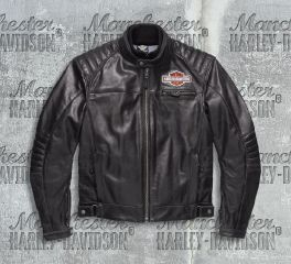 Harley-Davidson® Men's Legend Leather Jacket 98125-17EM