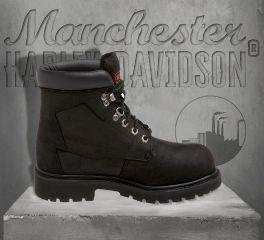 Harley-Davidson® Men's Badlands Leather Boots, Wolverine D91005