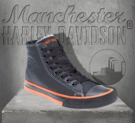 Harley-Davidson® Men's Nathan Hi-Top Sneakers, Wolverine D93816
