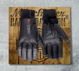 Harley-Davidson® Men's Destination Waterproof Leather Gloves 97354-17EM