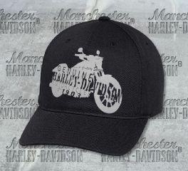 Harley-Davidson® Men's Motorcycle Silhouette Cap 97673-18VM