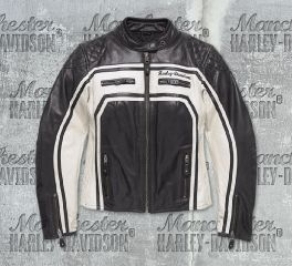 Harley-Davidson® Women's Relay Leather Jacket 98130-17EW