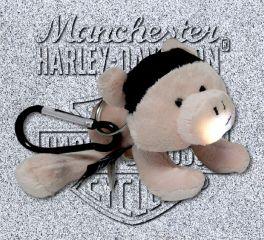 Harley-Davidson® Stuffed Hog Light Up Clip On Mini Plush, Kids Preferred™ LLC 20350
