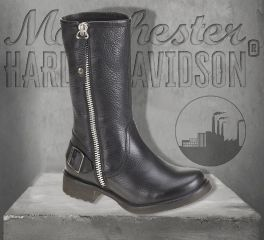 Harley-Davidson® Women's Baisley Leather Motorcycle Boots
