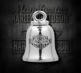 Harley-Davidson® Classic Silver Bar&Shield Ride Bell , MOD Jewelry Group Inc. HRB013