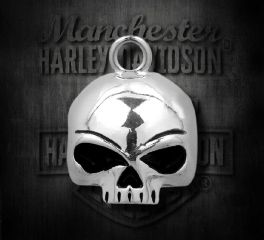 Harley-Davidson® Round Willie G® Skull Ride Bell, MOD Jewelry Group Inc. HRB020