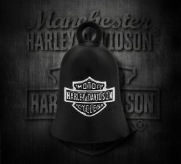Harley-Davidson® Black B&S Ride Bell, MOD Jewelry Group Inc. HRB059