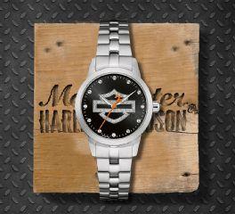 Harley-Davidson® Glitter Collection Women's Watch, Bulova UK Ltd. 76L182