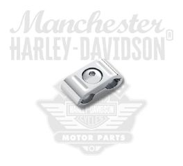 Harley-Davidson® Chrome Throttle Cable Clip 91274-04