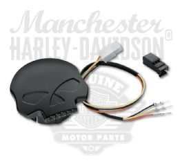 Willie G Skull LED Fuel Gauge 70900781