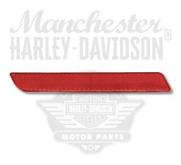 Harley-Davidson® Left Red Reflector 59288-92