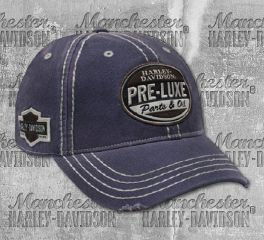 Harley-Davidson® Men's Embroidered Retro Pre-Luxe Baseball Cap, Global Products, Inc. BCC27131