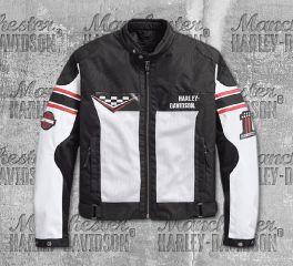 Harley-Davidson® Men's Foxfield CE-Certified Mesh Riding Jacket 97103-18EM