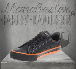 Harley-Davidson® Men's Roarke Low-Cut Sneakers, Wolverine D93811